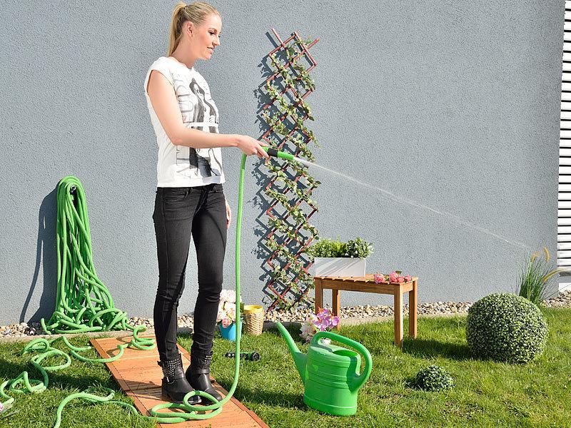 Royal Gardineer Dehnbarer Gartenschlauch 2,5 7,5 Meter mit Regulier ...