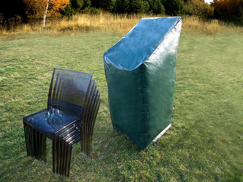 Gartenstuhl Abdeckung 107x66x66cm Schutzhülle Stuhl Polyester anthrazit Polster