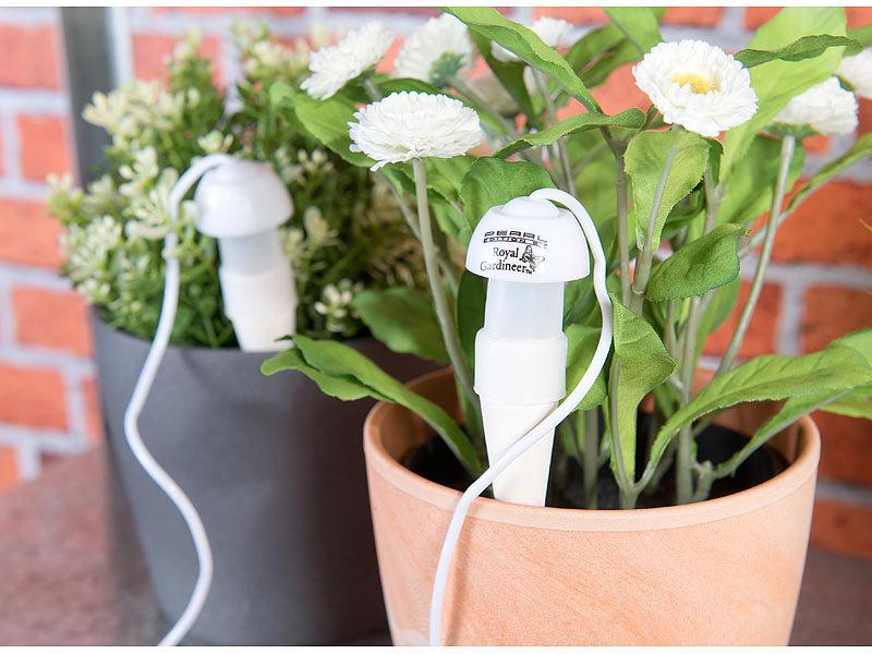 royal gardineer topfpflanzen bew sserungs system mit tonspitze und schlauch 10er set. Black Bedroom Furniture Sets. Home Design Ideas