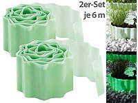 "Royal Gardineer 2er-Set Beet-Umrandung & Rasenkante ""Glow-in-the-dark"", 6 Meter"