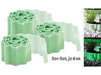 "Royal Gardineer 3er-Set Beet-Umrandung & Rasenkante ""Glow-in-the-dark"", 6 Meter"