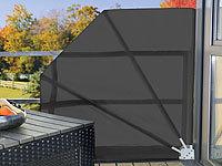 Royal Gardineer Sichtschutz-Fächer für Balkon, 140 x 140