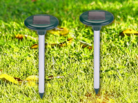 royal gardineer solar maulwurf frei premium 2er set. Black Bedroom Furniture Sets. Home Design Ideas